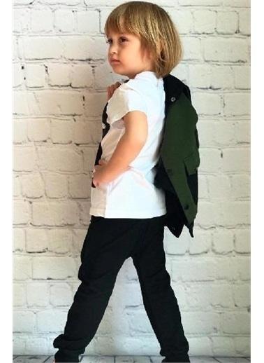 Riccotarz Erkek Çocuk Çıtçıt Kapşönlü Eşofman Takımı Renkli